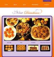 Bakery Website + eCommerce