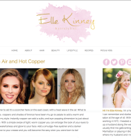 Beauty Blogger Website Design in NYC