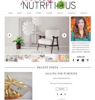 Hoboken Blog Design for Dietician