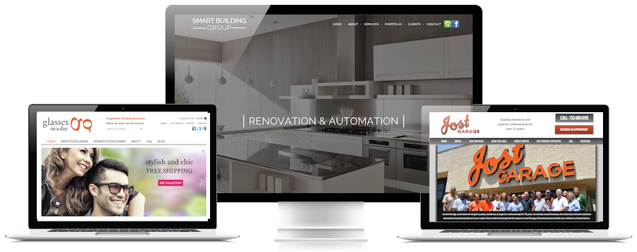 custom wordpress website design in Monmouth county nj
