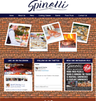 Catering Company Website Design on WordPress