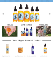 Skin Care eCommerce Website