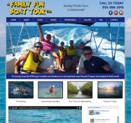 Boat Tour Website