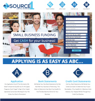 Small Business Funding Website Design