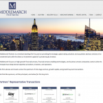 Investment Bank Website Design