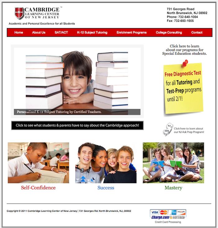 Learning Center Website