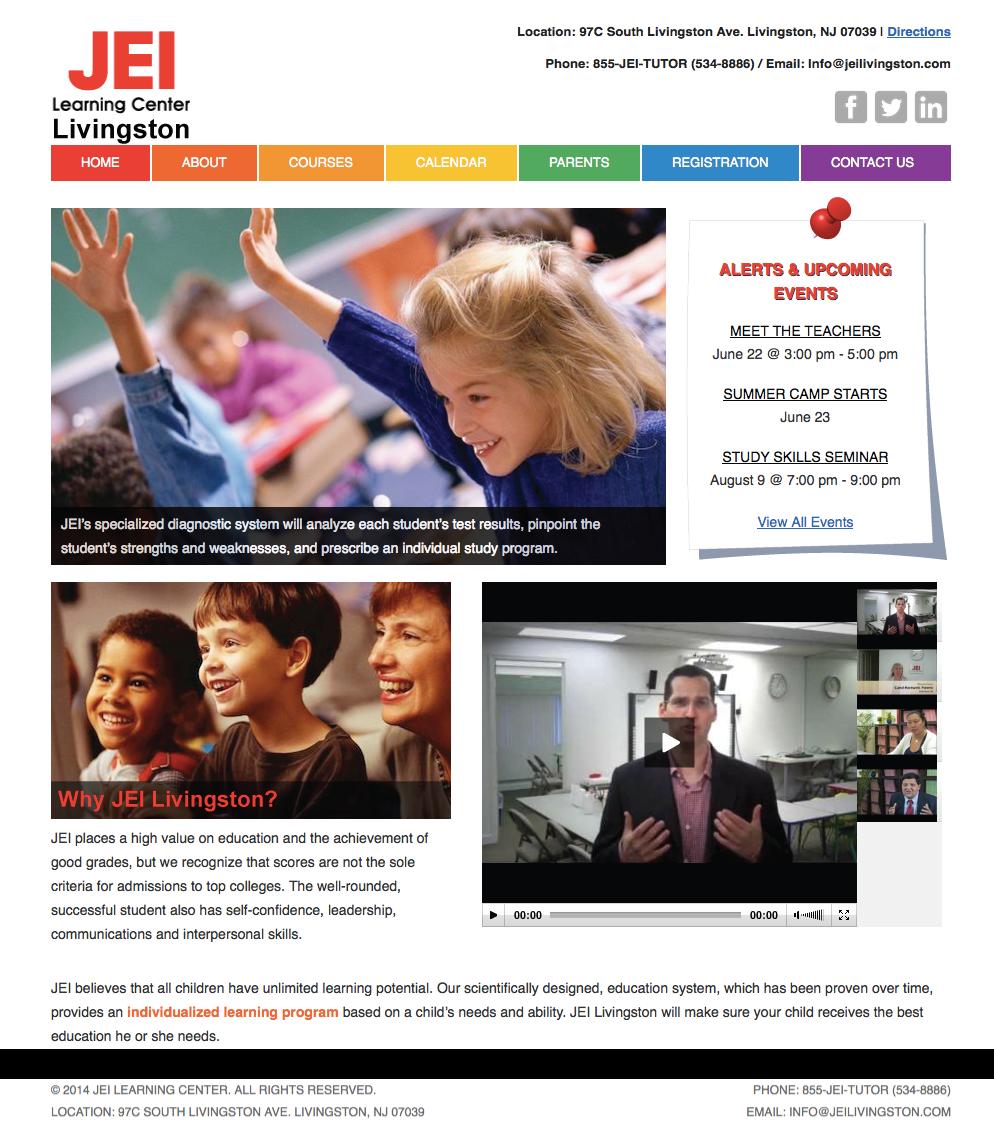 JEI Learning Center Website