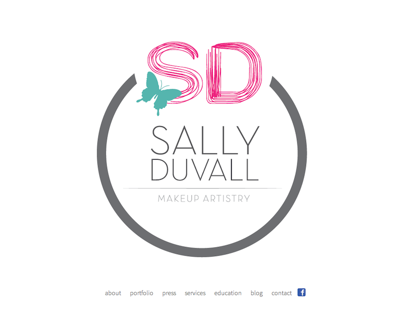 makeup artist website design