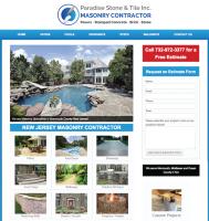 Responsive Masonry Construction Company Site