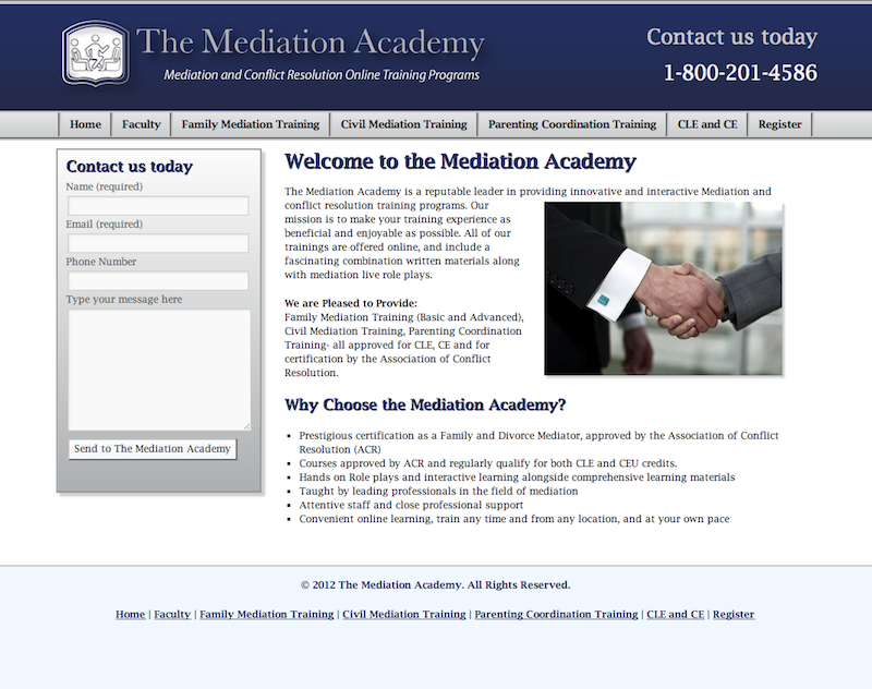 The Mediation Academy