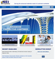 Nanotechnology Website Design