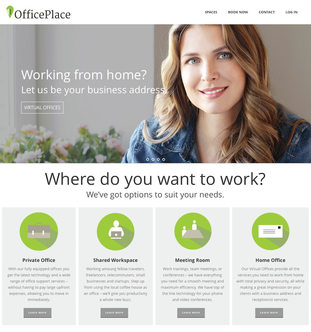 Office Space Website in CT