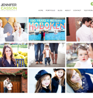 Photographer WordPress Website Design in Hoboken NJ
