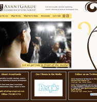 PR Company Website Design