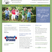 Preschool Website Design
