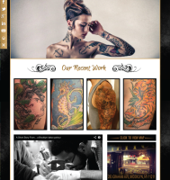 Tattoo Website Design
